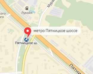 показать на карте метро пятнеыкое шоссе этом трещина должна
