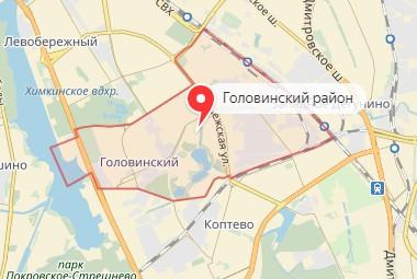 Вызов ветеринара на дом в район Головинский