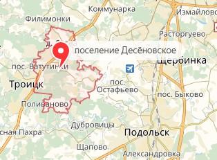 Вызов ветеринара на дом в район Десёновское